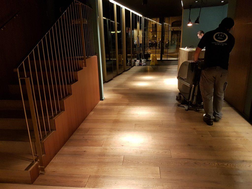 limpieza de restauración y hostelería